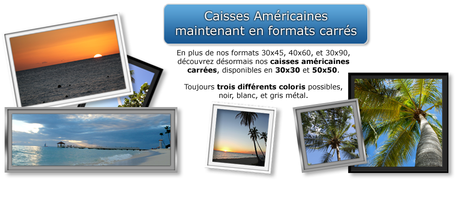 Caisses americaines photo